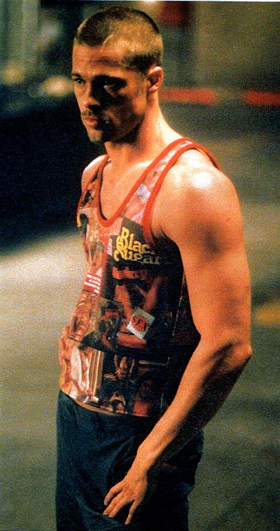 brad pitt fight club buzz cut - photo #18